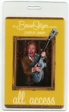 BRIAN SETZER ORCHESTRA 2009 Lonely Tour Laminate Backstage Pass!!! STRAY CATS