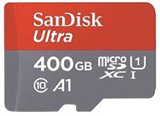 SanDisk 400GB Ultra micro SD SDXC A1 Class 10 100MB/s Memory Card Full HD Video