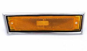 RH Side Marker Light w/ Chrome Bezel For GMC C1500, C2500, & More