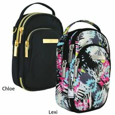 NEW Insulated Triple Zip Diabetes Case with strap, 2 colors