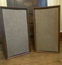 Vintage -The Fisher- Heritage XP-1A  3 Way Speakers Walnut Finish