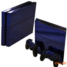 sapphire blue Glossy Decal Skin Sticker for Playstation 4 PS4 Console Controller