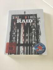 The Raid Dvd Bluray Steelbook New Sealed German Edition