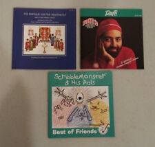 3 CD lot Kids Scribble Monster & His Pals Raffi Christmas Emperor Nightingale