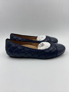 Vionic Wonens Desiree Navy Ballet Flats Size 9.5 M , 119