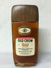 WHISKY OLD CROW TRAVELER FIFTH KENTUCKY STRAIGHT BOURBON USA 75cl 43% Ottime C