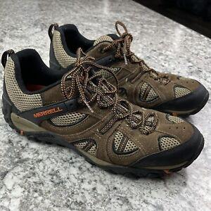 Men's Merrell Yokota Trail Ventilator Hiking Shoes J327814C Size 13 Brown