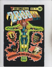 Quality Comics! 2000 AD! Issue 2!