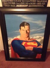 Superman Portrait By Alex Ross Giclee On Canvas 45/250 Edition DC Comics