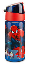 Disney Store Spider Man Water Bottle New