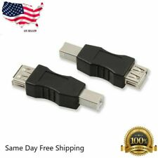 New USB 2.0 Type A Female to USB B Male Adapter Converter