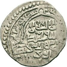Abu Said Bahadur Nomads Mongol Double Dirham Silver NICE COIN