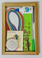 8Pcs Paper Quilling DIY Craft Tool Kit, Handmake Art Creation Board Strips Tools