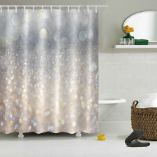 "60x72"" Shower Curtain Fantasy Flicker Glitter Bath Waterproof Fabric Peel Panel"