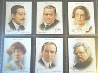1937 Wills FAMOUS BRITISH AUTHORS writers books set 40 cards Tobacco Cigarette