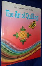 The Art of QUILLING :  by Pieter van der Volk,   V/G PB, 1994)