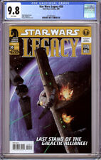 STAR WARS LEGACY #20 CGC 9.8 WHITE PAGES 2008