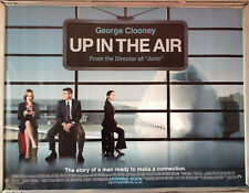 Cinema Poster: UP IN THE AIR 2010 (Quad) George Clooney Anna Kendrick