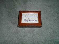 New ListingSankyo Cottage Garden Best Friends Music Box Jewelry Box