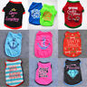 Various Pet Puppy Small Dog Cat Pet Summer Clothes Vest T Shirt Dress Apparel