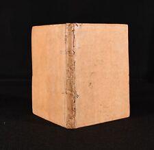 1580 Trattato DelL'Amore Humano Dell'Eccellente Signor Flaminio Nobili Second Ed
