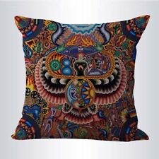 US SELLER-bedding decorative pillows Mexican folk art print cushion cover