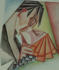 The Kiss Autori Caricature 1930 Page Print 6320