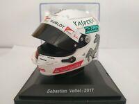 1/5 CASCO SEBASTIAN VETTEL 2017 HELMET COLECCION F1 FORMULA 1 A ESCALA