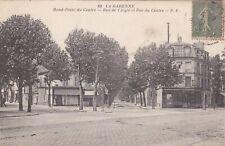 FRANCE - La Garenne - Rond Point du Centre - Rue de l'Aigle et Rue du Centre