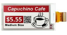 2.6 inch e-Ink 296x152 e-Paper Display Panel Red/White/Black SPI w/ZIF Connector