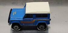 VINTAGE 1987 LAND ROVER NINETY 90 1:62 SCALE MATCHBOX TOY CAR TRUCK SUV BLUE