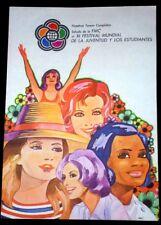 "1978 Original Cuban Poster""Festival de Estudiantes.FMC"".Plakat.Affiche.Affisch"