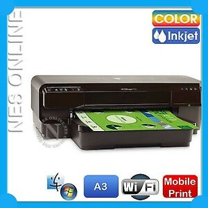HP Officejet 7110 H812a Wide Format A3+ Wireless Color Printer [CR768A] 932/933