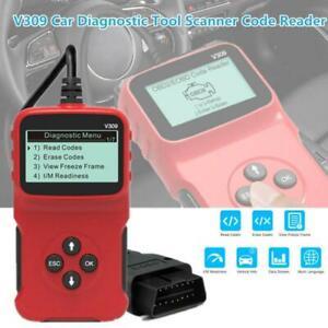 V309 Car SUV Code Reader OBDII Display Tester Instrument Diagnostic Scanner Tool