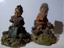 ~Tom Clark Gnome-Figurines Chip and Candy
