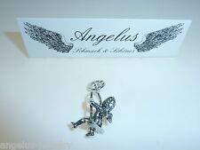 Giovanni Raspini, Engel, Angel, schaukelnd, 925 Silber Anhänger, #6274