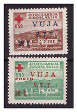 TRIESTE B - 1948    CROCE ROSSA   SERIE  NUOVA **