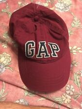 GAP Baseball Hat Cap Adjustable One Size NEW NWT Red