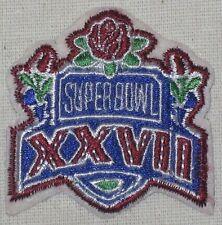 "Super Bowl XXVII (27) Patch - Cowboys defeated Bills 1993 - 2"" x 2 1/8"" Atlanta"
