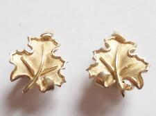 Trifari Gold Earring Vintage Costume Jewellery