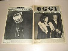 OGGI=1961/36=MILVA=FUNIVIA MONTE BIANCO=GUARDIA SANFRAMONDI=VALGUARNERA=LIGNANO=
