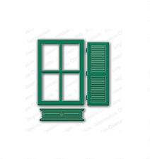 WINDOW WITH SHUTTER DIE-Impression Obsession/IO Stamps (DIE104-X)-Steel Dies