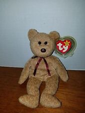 Ty Beanie Curly the Bear VERY RARE with FACTORY ERROR Plus 6 More Errors