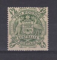 APD110) Australia 1949 Arms £2 with Roller Flaw late state, heavy impression