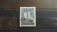 Polen 1950 / Kat. Fischer Nr. 527 mit Aufdruck Groszy