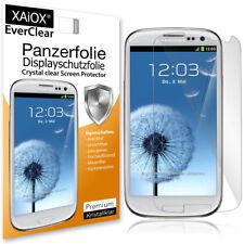2x EverClear Panzerfolie Display Schutzfolie für Samsung Galaxy S3 i9300 i9305