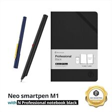Bundle Promotion : Neo SmartPen M1 with N Professional notebook Black