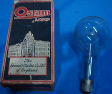 Old Vintage Osram Electric Bulb in Box from India 1950