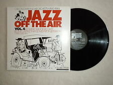 "LP IKE QUEBEC, ILLINOIS JACQUET, BENNY CARTER ""Jazz off the air vol 4"" SPJ148 µ"