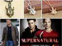SuperNatural Dean Winchester Egyptian Protection Amulet Necklace Jewellery